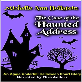 The Case of the Haunted Address audiobook cover art