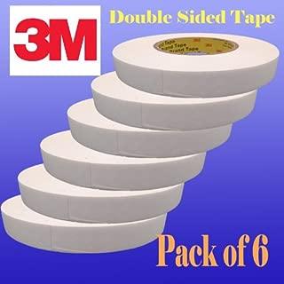 Pack of 6 3m Heavy Duty Double Sided Banner Hem Tape 1