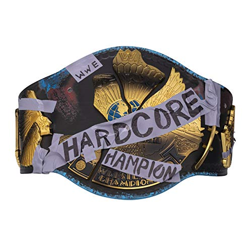 WWE Authentic Wear Hardcore Championship Replica Title Belt Multi