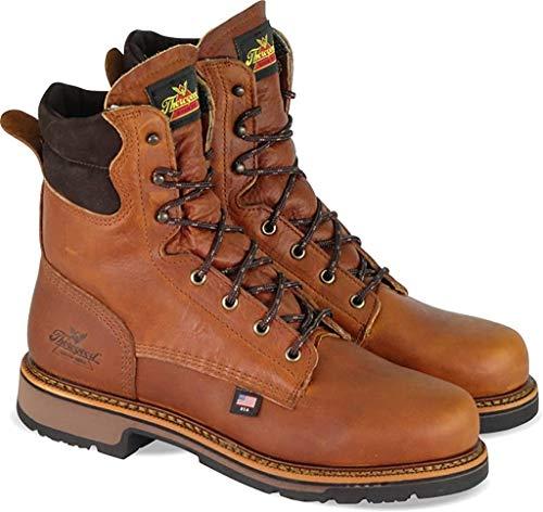 Thorogood Men's American Heritage 8' Classic Plain Toe, Non-Safety Toe Boot