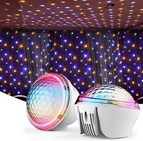 ZSW Star Light Projector LED Galaxy Night Light for Bedroom Home Theater Night Light Mood Best Gift-Default