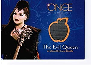 Once Upon a Time Wardrobe / Costume Card M10 - A Piece of The Evil Queen's Wardrdrobe