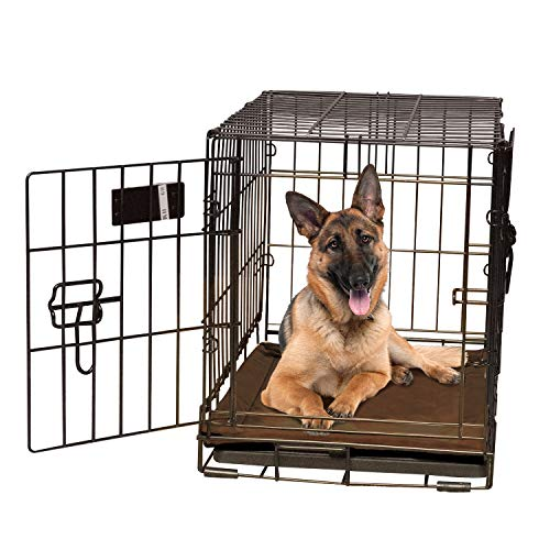 K&H Pet Products Self-Warming Crate Pad Mocha X-Large 32 X 48 Inches