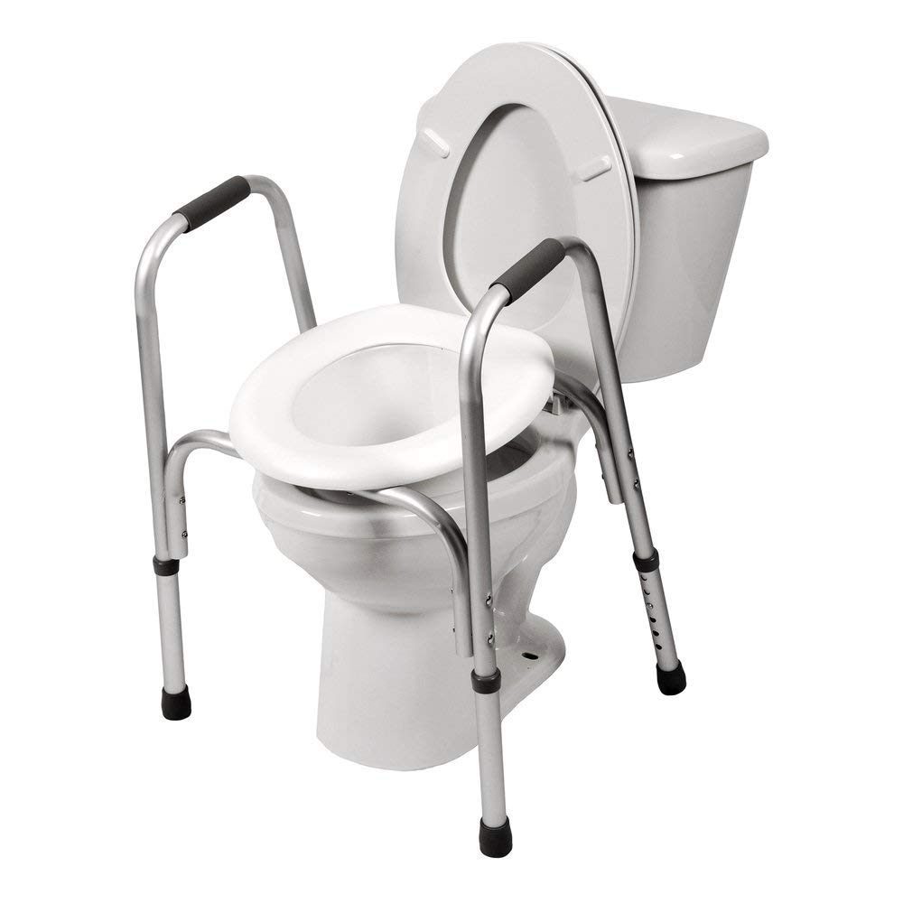 PCP Raised Toilet Adjustable Elevated