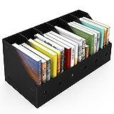 ABClife 6PCS Porta Revistero para Archivos, Organizador de Archivos de Plástico Resistente al Agua, Estante de Revistero Archivador Excelente para el Escolar, Almacenamiento de Archivos en el Hogar