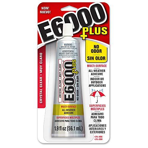 E6000 Transparenter Mehrzweck-Kleber, 50 ml