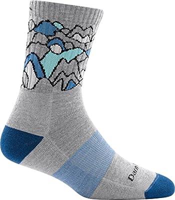 Darn Tough Coolmax Zuni Micro Crew Cushion Sock - Women's Light Gray Medium