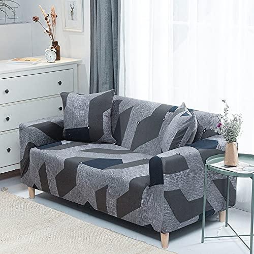 MKQB Funda de sofá elástica elástica, Funda de sofá Modular de Esquina para Sala de Estar, Funda de sofá de decoración del hogar en Forma de L NO.11 1seat-S- (90-140cm