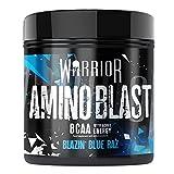 Warrior Amino Blast BCAA Powder Amino Acids 270G Blue Raspberry