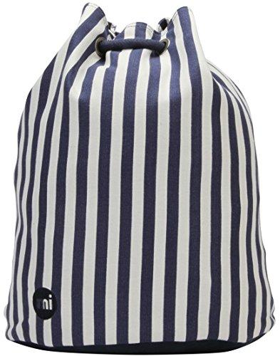 Mi-Pac Premium Swing Bag Bolsa de Cuerdas para El Gimnasio, 38 cm, 18 litros, Sea Stripe BLU