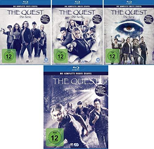 The Quest - Die Serie Staffel 1-4 im Set - Deutsche Originalware [8 Blu-rays]