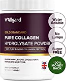 Collagen Powder, Gold Standard Bovine Collagen Peptides Powder by Wellgard - High Levels of The 8 Essential Amino Acids, Collagen Supplement, Made in UK