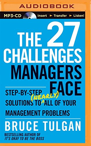 27 Challenges Managers Face, The