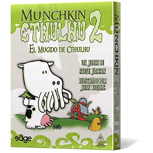 Edge Entertainment Munchkin Cthulhu 2-español. (Edge entertaiment 332169)