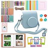 Funda y Accesorios Compatibles con Instax Mini 11 Cámara Paquete de Accesorios Incluye álbumes, Filtros, Correa y Otros Accesorios