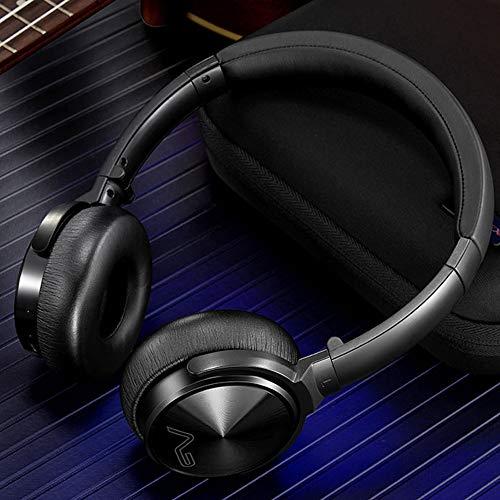 Jian Lin Auriculares inalámbricos Bluetooth Deportes Dual Ear Espera Larga Auriculares Bluetooth con reducción de Ruido con micrófono Cascos Micro (Color : Black)