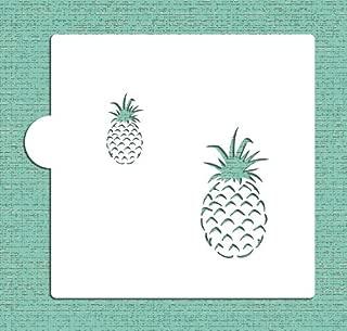 Pineapple Cookie and Craft Stencil CM097 by Designer Stencils