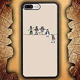 ZCEDCVRE New Painted STA Soft Rubber TPU Phone Cover For Funda iPhone 7 Plus Case/Funda iPhone 8 Plus Case T52JAS