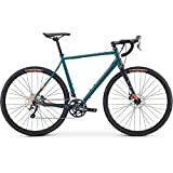 Fuji Jari 1.5 Adventure Road Bike 2020 - Bicicleta de Carretera (satén, 56 cm, 700 c), Color Verde
