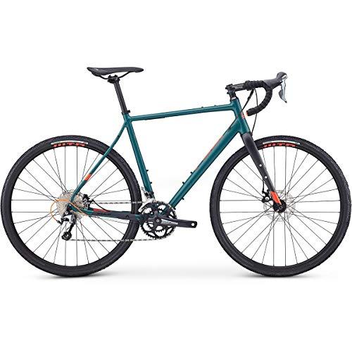 Fuji Jari 1.5 Adventure Road Bike 2020 - Bicicleta de carretera (satén, 56 cm, 700 c), color verde