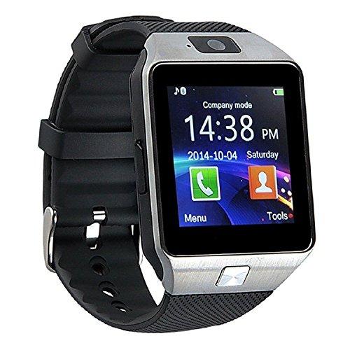TKSTAR Smart Watch, Bluetooth Smart Watch mit Sim Card Slot GSM Sport Armbanduhr Activity Tracker mit Schrittzähler Smart Gesundheit Armbanduhr Telefon für Android/iOS Handy