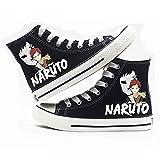 NLJ-lug Naruto Anime Cosplay Zapatos Zapatos De Lona Zapatillas,40