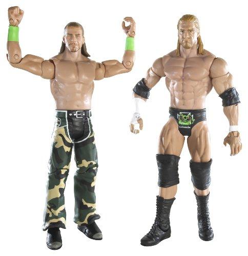 WWE D-Generation X Supreme Team Triple H & Shawn Michaels 2-Pack Series #5