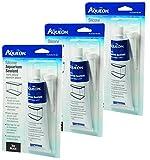 Aqueon Silicone Aquarium Sealant, Black, 3-Ounce (3 Pack)