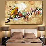 wuzhaodi Plakat Leinwand Wandkunst Bilder Wohnzimmer 1