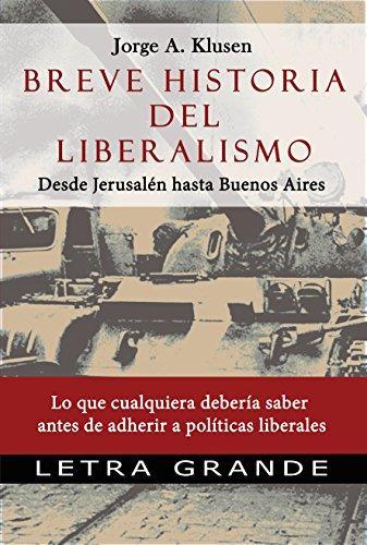 Portada del libro Breve historia del liberalismo de Jorge Klusen