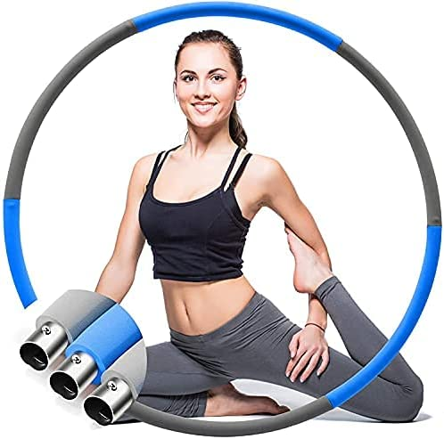 Marie's 67% OFF of fixed price kids Weighted Hula Hoop for Soft Professional P Adults - Ranking TOP18