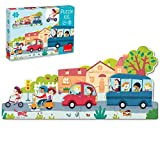 Goula- Vehiculos Puzzle XXL, Multicolor (453428)
