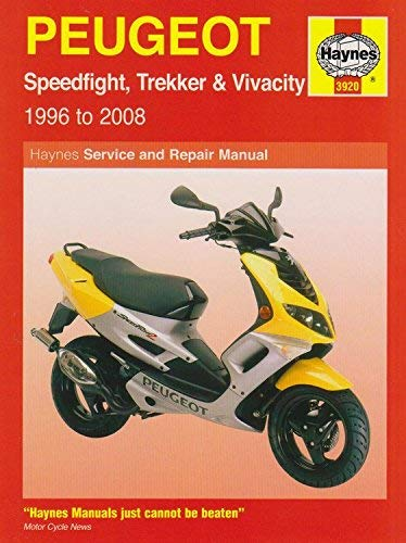 [ Peugeot Speedfight, Trekker (Tkr) And Vivacity Service And Repair Manual 1996 To 2008 ] By Mather, Phil ( Author ) Nov-2008 [ Paperback ] Peugeot Speedfight, Trekker (TKR) and Vivacity Service and Repair Manual 1996 to 2008