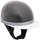 バイクパーツセンター ヘルメット ハーフ 半帽 コルクタイプ ブラックラメ フリーサイズ (頭囲57cm~60cm未満) 700107