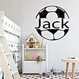 Modeganqingg Nom personnalisé Stickers muraux Vinyle Chambre Enfant Stickers muraux...