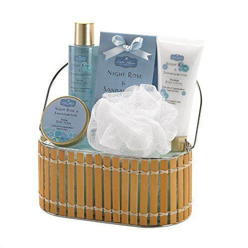 Home Locomotion Night Rose And Sandalwood Bath Gift Set by Home Locomotion
