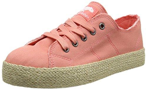 Rocket Dog Damen Madox Sneaker, Orange (Denim Peach), 36 EU