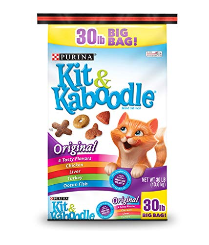 PACK OF 2 - Purina Kit & Kaboodle Original Cat Food 30 lb. Bag