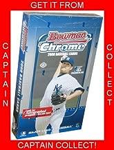 2008 Bowman Chrome Baseball HOBBY Box - 18 packs 10 cards IN STOCK