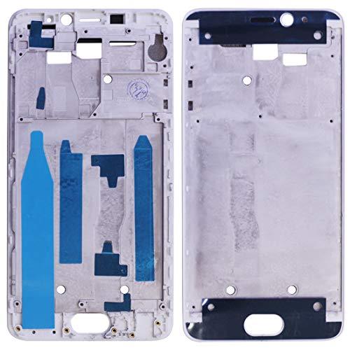 BEIJING  SCREENCOVER+ / Placa del Bisel del Marco Medio para Meizu M5 Note/Meilan Note 5, Reemplazo LCD Placa Placa ATRÁS BIELEL (Color : Blanco)
