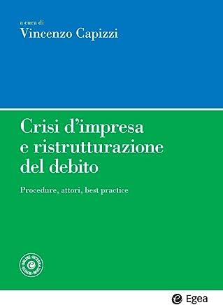 Crisi dimpresa e ristrutturazione del debito: Procedure, attori, best practice