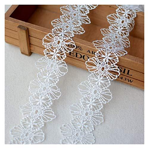 YZRDY Cinta De Encaje Guipur Guipur Negro Blanco Tela De Encaje Applique Vestido De Novia Accesorios De Costura (Color : 4cm 1meter Price)