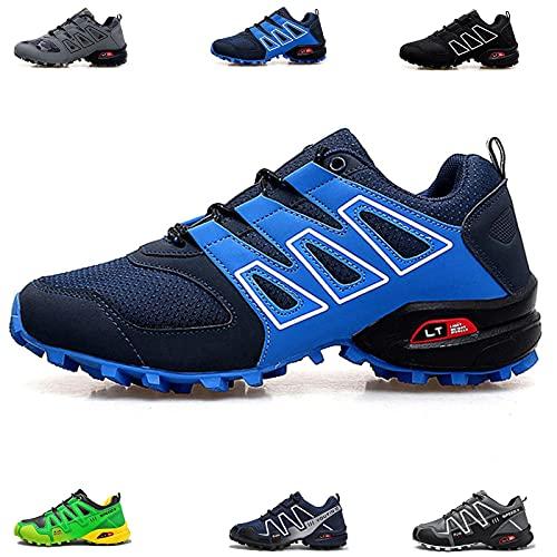 MIAOML Zapatillas De Senderismo Hombre Mujer Ligero Antideslizantes Zapatos De Trekking, Unisex,E-47 EU