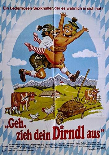 GEH, zieh Dein Dirndl aus (1973) | original Filmplakat, Poster [Din A1, 59 x 84 cm]