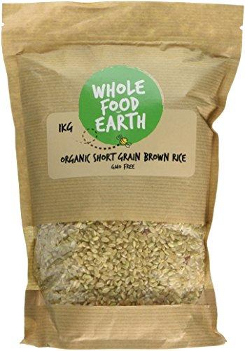 Wholefood Earth Organic Short Grain Brown Rice, 1 kg