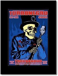 TURBONEGRO - Troubadour Hollywood 2003 Mini Poster - 23.5x16.6cm
