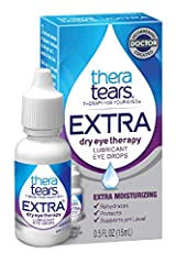 EXTRA DRY EYE RELIEF: Use TheraTears EXTRA Dry Eye Therapy Lubricant Eye Drops to rehydrate dry eyes, protect against further irritation and support the natural tear pH level RESTORE EYES NATURAL BALANCE: TheraTears electrolyte formula corrects the s...