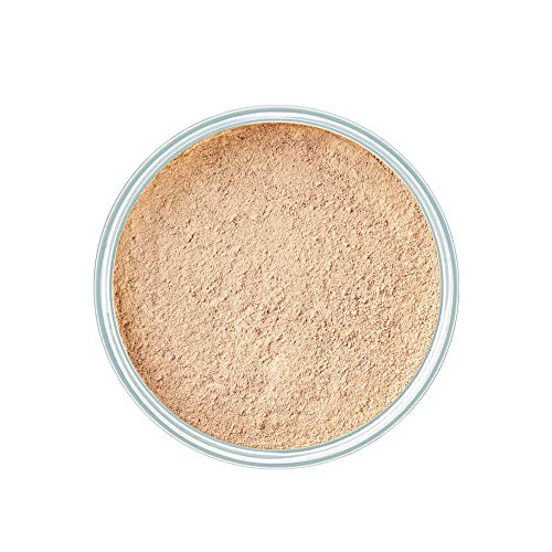 ARTDECO Mineral Powder Foundation, Puder Make up, Nr. 4, light beige