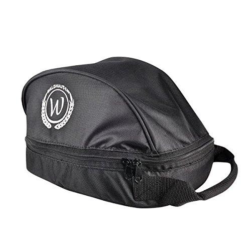 WALDHAUSEN Helmtasche, schwarz/schwarz