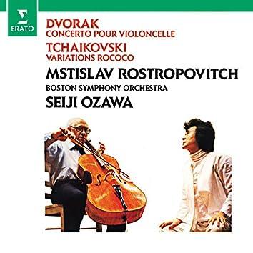 Dvorák: Cello Concerto - Tchaikovsky: Variations on a Rococo theme